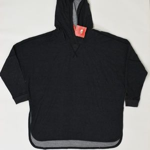 New The North Face Regular L Gray Hoodie Cotton
